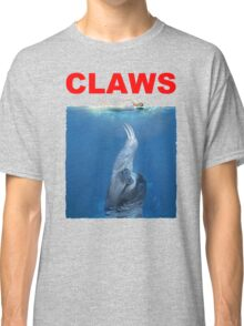 Claws Jaws Spoof parody Cute Sloth Hipster Premium Quality Classic T-Shirt