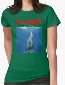 Claws Jaws Spoof parody Cute Sloth Hipster Premium Quality Womens T-Shirt