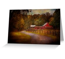 Farm - Barn - Rural Journeys  Greeting Card