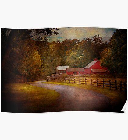 Farm - Barn - Rural Journeys  Poster