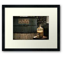 Woodford Reserve Framed Print