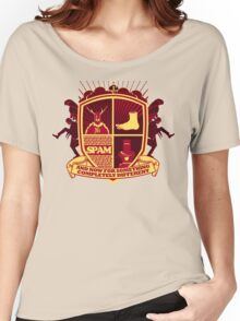 Monty Python Crest Women's Relaxed Fit T-Shirt
