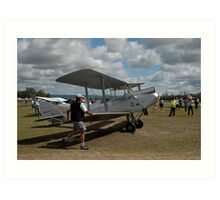 Walking The Moth @ Festival Of Flight 2011 Art Print