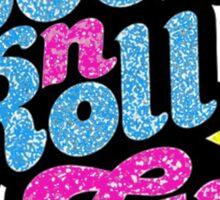 Rock n' roll Girl Sticker