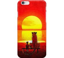 Calvin and Hobbes Sunset iPhone Case/Skin