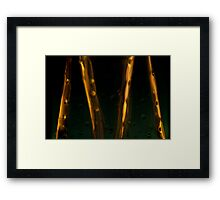 Ode to glass (7) Framed Print
