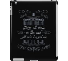 We're All Stories Tardis - Dr Who Inspired Dalek Stardust iPad Case/Skin