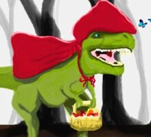 Rex Riding Hood Sticker