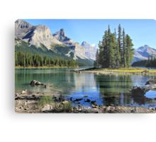 Spirit Island, Maligne Lake, Jasper NP Metal Print