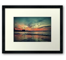 In Between Night and Day Framed Print