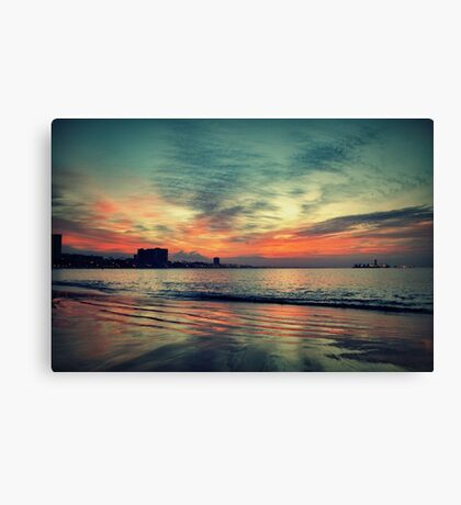 In Between Night and Day Canvas Print
