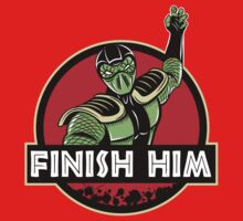Finish Him One Piece - Long Sleeve