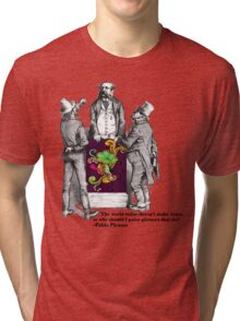 Picasso Quote Vintage Shirt Tri-blend T-Shirt