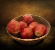 Food - Apples - A bowl of apples  by Mike  Savad