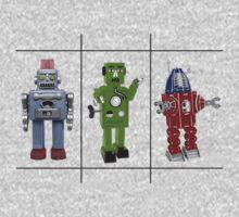 Retro Toy Robots Kids Clothes
