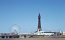 Blackpool Tower & Central Pier by Liam Liberty