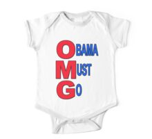 OMG Obama Must Go One Piece - Short Sleeve