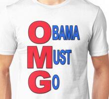 OMG Obama Must Go Unisex T-Shirt