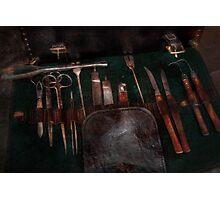 Doctor - Civil war instruments Photographic Print