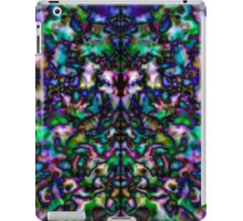 Colourful, groovy psychedelic kaleidoscope iPad Case/Skin