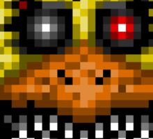 Five Nights at Freddys 4 - Nightmare Cupcake - Pixel art Sticker
