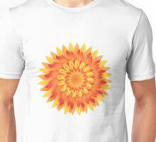 Firery Dahlia Unisex T-Shirt