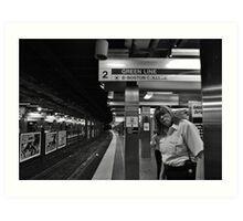 Subway Security Art Print