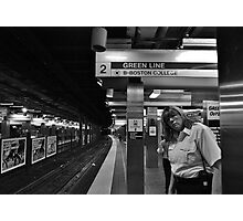 Subway Security Photographic Print