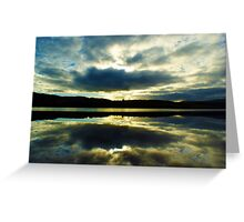Reflections on a Scottish Loch Greeting Card