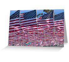 9/11 Tribute Greeting Card