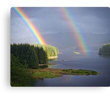 Rain and Sun Canvas Print