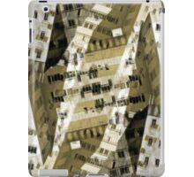 Abstract city buildings iPad Case/Skin