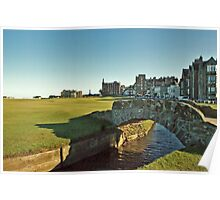 Golf's Old Course, St Andrews, Scotland Poster