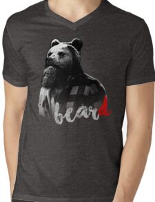 BearD Mens V-Neck T-Shirt