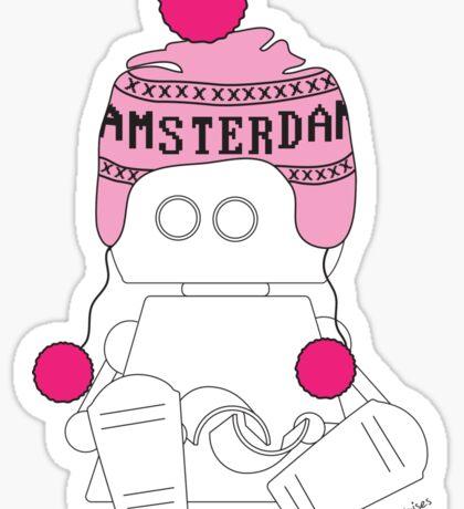 Robots in Disguises - Amsterdam Bot Sticker