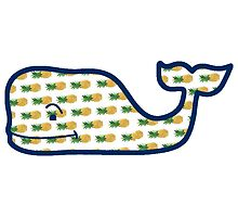 Pineapple Vineyard Vines Whale by tumblur