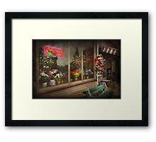 Store - Belvidere, NJ - Fragrant Designs  Framed Print