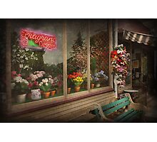 Store - Belvidere, NJ - Fragrant Designs  Photographic Print