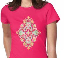 Soft Neon Pastel Boho Pattern Womens Fitted T-Shirt