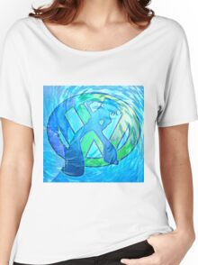 vw wave Women's Relaxed Fit T-Shirt