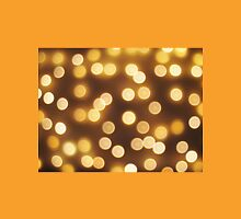 Abstract defocused and blur bokeh of small yellow flames Unisex T-Shirt