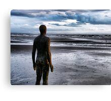 Scuplture of a Man Canvas Print