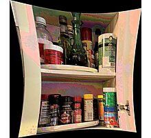 Spice Cabinet Photographic Print