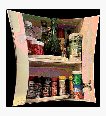 Spice Cabinet Photographic Print