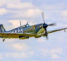 Seafire LF.IIIc PP972 G-BUAR first post-restoration display by Colin Smedley