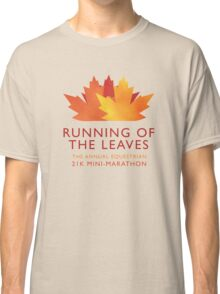 Running of the Leaves Classic T-Shirt