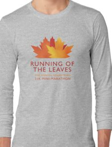Running of the Leaves Long Sleeve T-Shirt