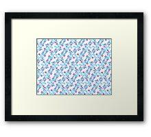 Swirlpool Pattern Framed Print