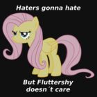 Fluttershy Haters gonna Hate by Blubb