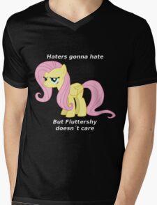 Fluttershy Haters gonna Hate Mens V-Neck T-Shirt